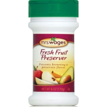 Mrs. Wages Fresh Fruit Preserver 6oz