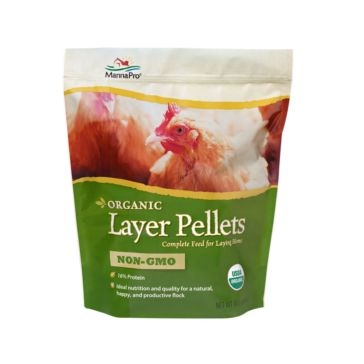 Manna Pro Organic Layer Pellets Complete Feed 5lb