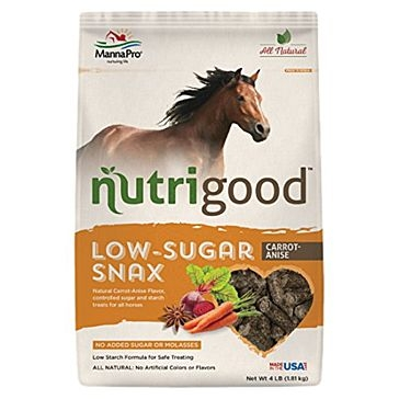 Manna Pro 4lb Nutrigood Horse Treats-Orange