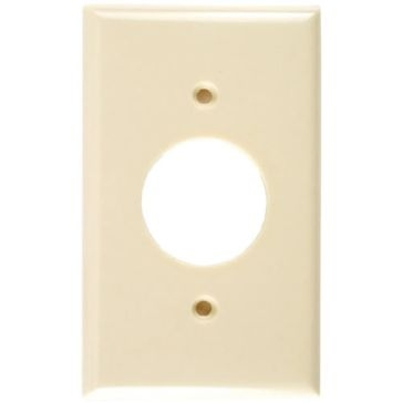 Cooper Ivory Receptical Plate 2131V-BOX