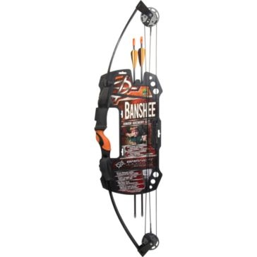 Barnett Banshee Quad Youth Archery Compound Bow Set 1075