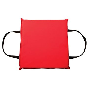Onyx Red Type IV Foam Boat Cushion