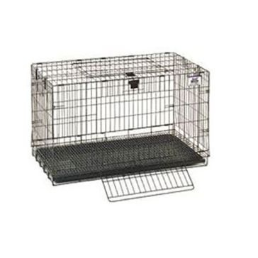 "Pet Lodge 31""x17""x20"" Medium Wire Pop-up Rabbit Cage"