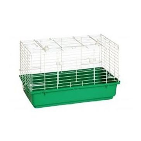 "Pet Lodge 24.5""x14""x16.5"" Small Plastic Bottom Rabbit Home"