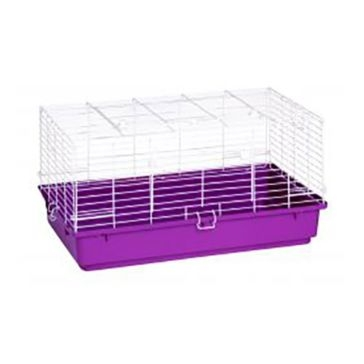 "Pet Lodge 31""x18.5""x16"" Medium Plastic Bottom Rabbit Home"
