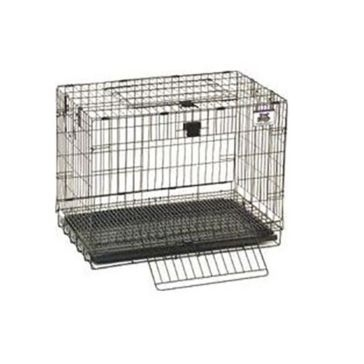 """Pet Lodge 25""""x16""""x19"""" Small Wire Pop-up Rabbit Cage"""