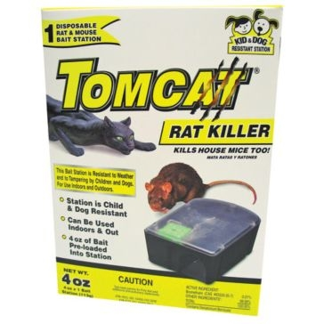 Tomcat Rat Killer Disposable Bait Station 22880