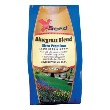 X-Seed Ultra Premium Grass Seed - Bluegrass Blend 1lb