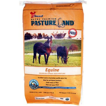 X-Seed Pasture Land Equine Premium Forage Seed Mixture 25lb