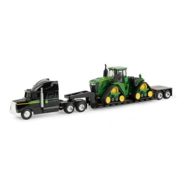 Ertl 1:64 John Deere 9570RX with Semi and Lowboy Trailer