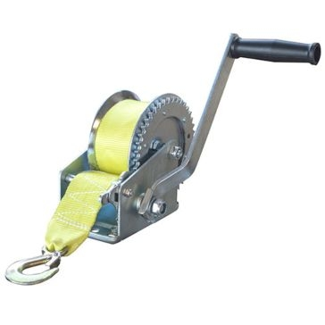 Buffalo Tools 1,400 LB Hand Winch w/ Hook W1400