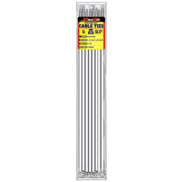 Pro Tie Natural Nylon 175lb Extra Heavy Duty Cable Ties