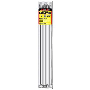 Pro Tie Natural Nylon 250lb Super Heavy Duty Cable Ties