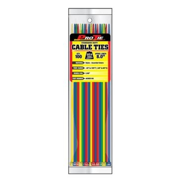 Pro Tie Nylon 50lb Standard Duty Cable Ties