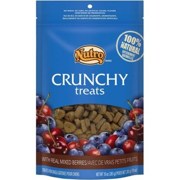 Nutro Crunchy Dog Treats with Real Mixed Berries 10oz