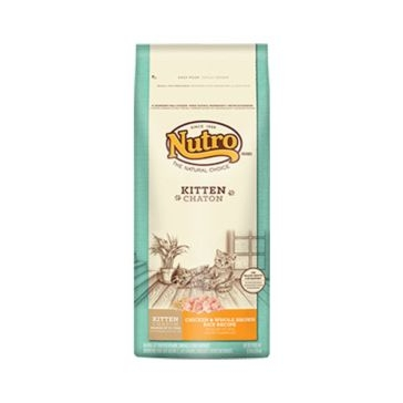Nutro Dry Kitten Food - Chicken & Whole Brown Rice Recipe 3lb