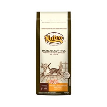 Nutro Hairball Control Adult Dry Cat Food - Chicken & Whole Brown Rice Recipe 3lb