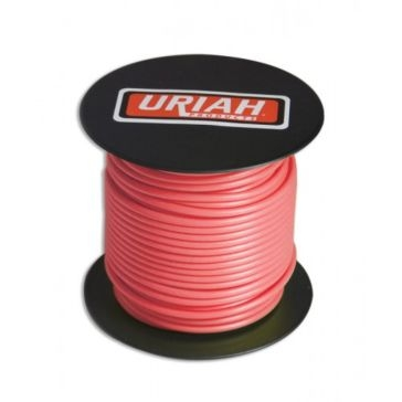 Uriah Red 12AWG Primary Stranded Wire 100' Spool UA521250