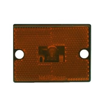 Uriah Amber Replacement Lens For 114 Style Marker Light UL550150