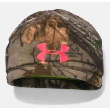 Under Armour Womens ColdGear Infrared Scent Control Camo Beanie