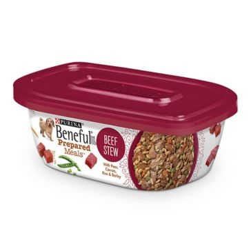 Purina Beneful Prepared Meals Beef Stew Wet Dog Food 10oz