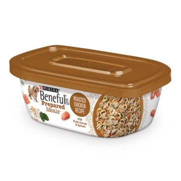 Purina Beneful Prepared Meals Roasted Chicken Recipe Wet Dog Food 10oz