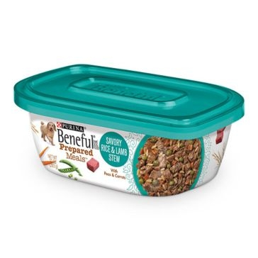 Purina Beneful Prepared Meals Savory Rice & Lamb Stew Wet Dog Food 10oz