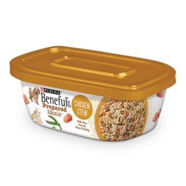 Purina Beneful Prepared Meals Chicken Stew Wet Dog Food 10oz