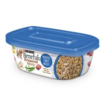 Purina Beneful Prepared Meals Roasted Turkey Medley Wet Dog Food 10oz
