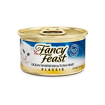 Fancy Feast Classic Ocean Whitefish & Tuna Feast 3oz.