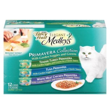 Fancy Feast Cat Food 12 Pack Elegant Medley's Primavera Variety Pack