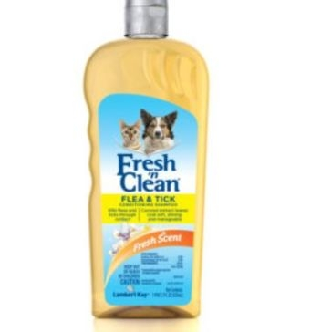Fresh 'n Clean® Flea and Tick Conditioning Shampoo - Classic Fresh Scent 18 OZ