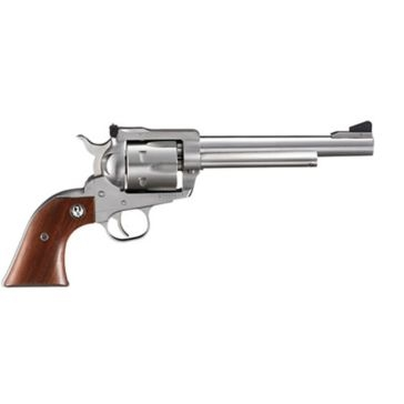 "Ruger Blackhawk .357 Mag 6.50"" Stainless Single-Action Handgun"