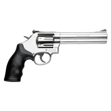 "Smith & Wesson 686 .38SW Special +P 6""  Stainless Steel L-Frame Handgun"
