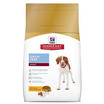 Hill's Science Diet Adult Grain-Free Dog Food