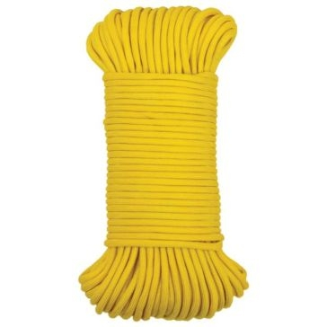 "Koch Industries 5/32"" Yellow 550 Paracord 100ft"