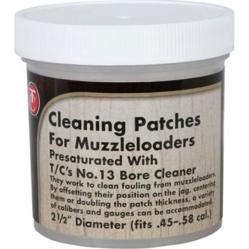 TC Pre-Saturated Gun Cleaning Patches