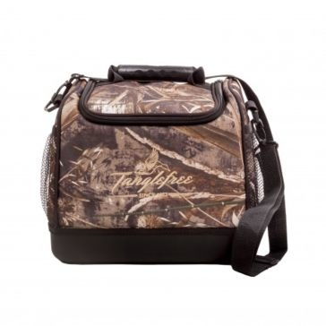 "Tanglefree 12"" Camo Deluxe Cooler Bag with Hard Bottom"