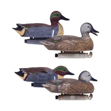 Tanglefree Pro Series Green Wing Teal Decoy - 6 pk