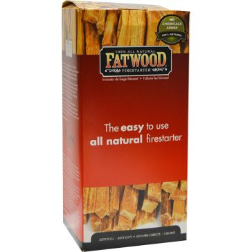Fatwood Natural Pine Firestarter Sticks 1.5lb Box