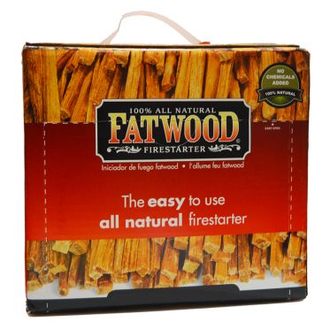 Fatwood Natural Pine Firestarter Sticks 10lb Box