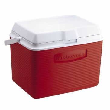 Rubbermaid 24qt Cooler Ice Chest Red