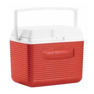 Rubbermaid Red Cooler 10 qt