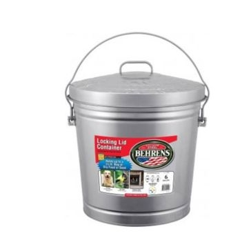 Behrens Locking Lid Can 6 Gal