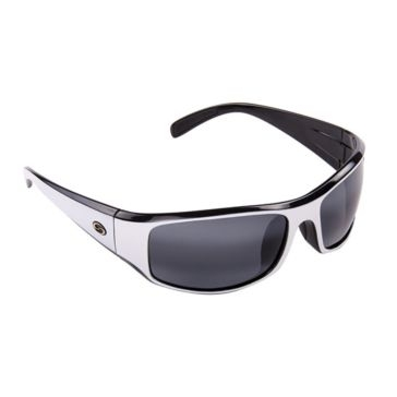 Strike King S11 Optics Okeechobee White/Black Sunglasses