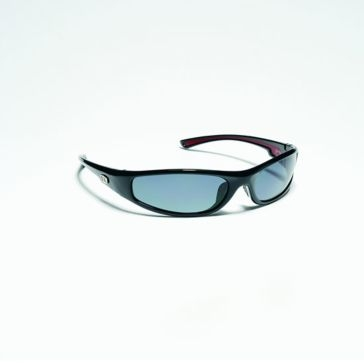 Strike King SK Plus Kulik Black w/Blue Lens Polarized Sunglasses