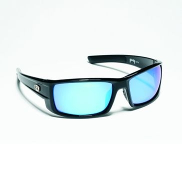 Strike King SK Plus Bosque Black w/Blue Lens Polarized Sunglasses