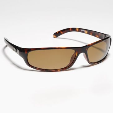 Strike King SK Plus Moriane Tortoise Shell w/Amber Lens Polarized Sunglasses