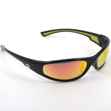 Strike King SK Plus Kulik Black w/Orange Lens Polarized Sunglasses