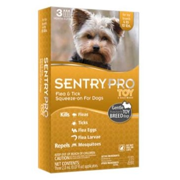 Sentry Pro Toy Flea & Tick Squeeze-on for Dogs